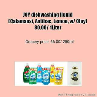Joy Dishwashing Liquid 1 Liter