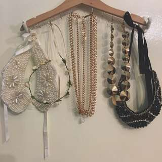 $5 Assorted Necklaces And Headpieces!