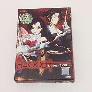 BLOOD+ anime (original DVD)