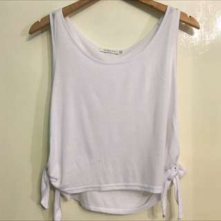 MINK PINK Open Side Tank Top- Size M