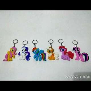 Gantungan Kunci Kuda Little Pony