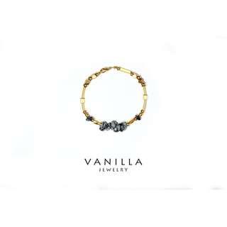 [網路價]Vanilla Jewelry獨家設計款-「理想國四部曲-記憶傳承人」純手工天然石黃銅手鍊-可客製*限時優惠中