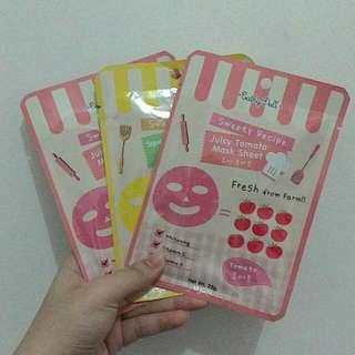 3pcs CATHY DOLL juicy Tomato And Cucumber