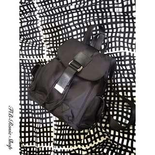 現貨🌿黑色束口帆布後背包🍃