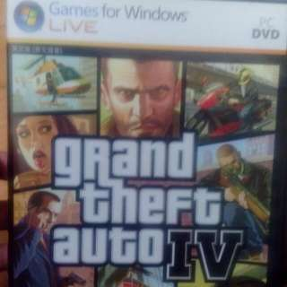 GTA IV遊戲光碟有兩片