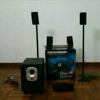 JBL Cinema Sound Speakers 5 + 1 Subwoofer