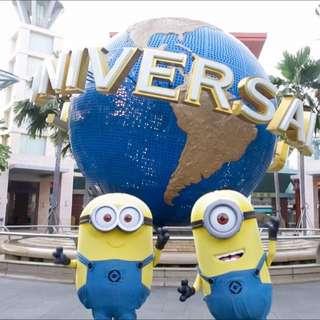 Universal Studio Singapore Ticket / Adventure Cove