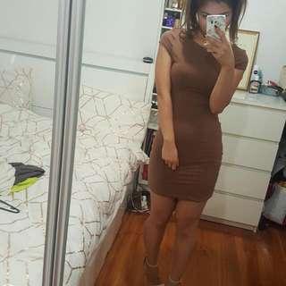 Kookai Dress Brown