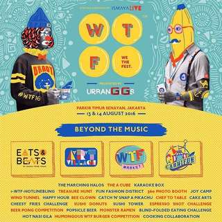 WE THE FEST 2 DAYS PASS (GA. Bukan Early Entry)