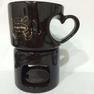 Haagen-Daze心型杯子