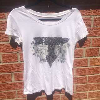 Sequin Graphic Tee