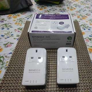 Sineoji 2x HomePlug 1800Mbps