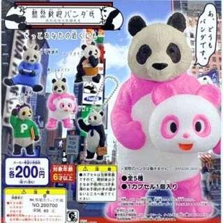 已徵到❤️ 熱烈歡迎大熊貓先生 扭蛋 粉紅款