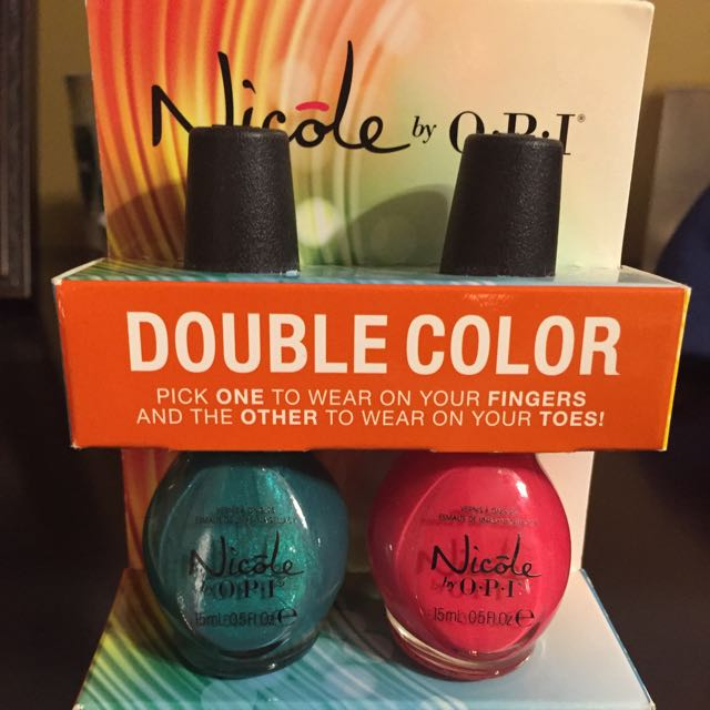 2 Nicole By OPI Nail Polishes