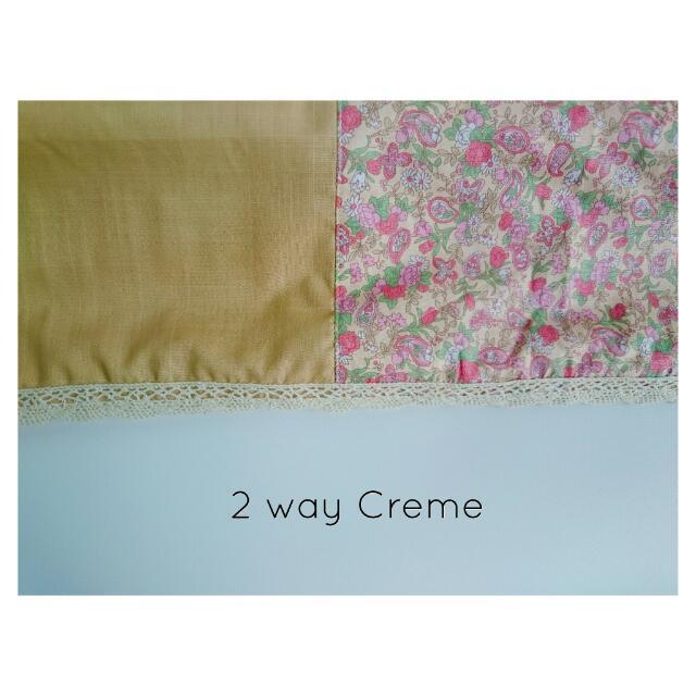 2 Way Creme Pashmina