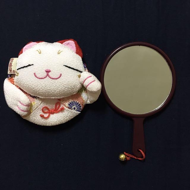 全新 日本帶回❣可愛手拿鏡