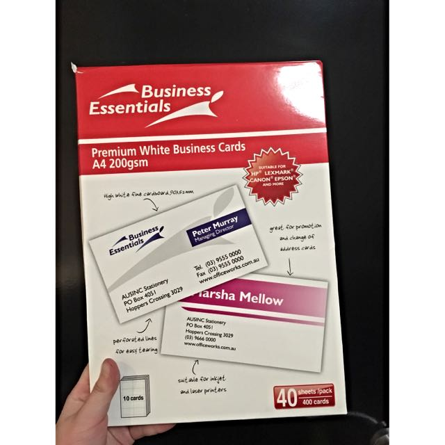 Business essentials business card design craft on carousell photo photo photo reheart Gallery
