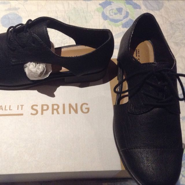 Call It Spring Jonalyn Black Shoes