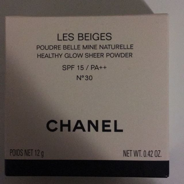 Chanel Les Beige Powder