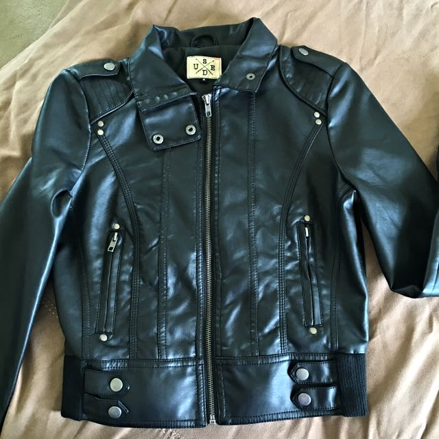City Beach Woman's Leather Jacket