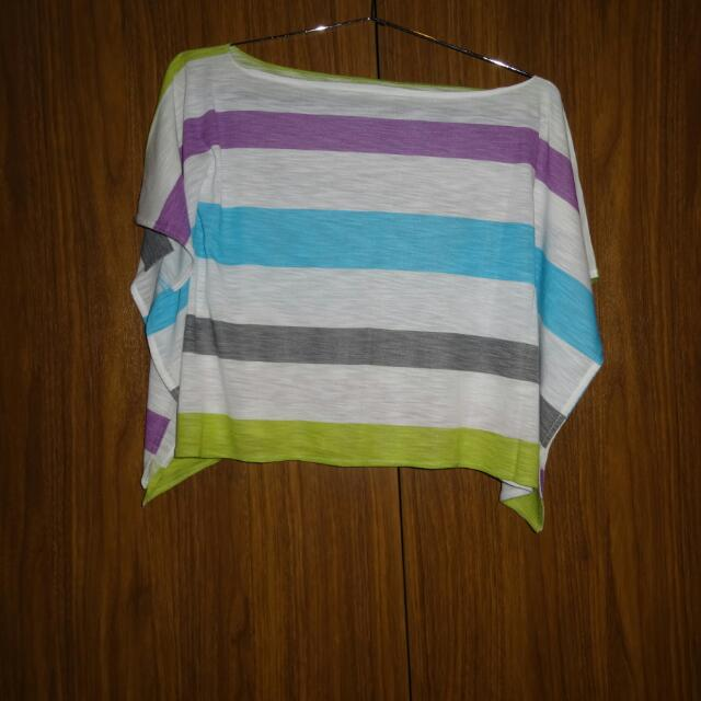 Colorful Stripes Crop Top