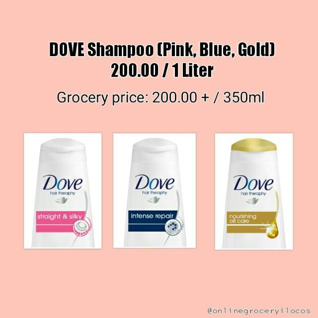 Dove Shampoo 1 Liter