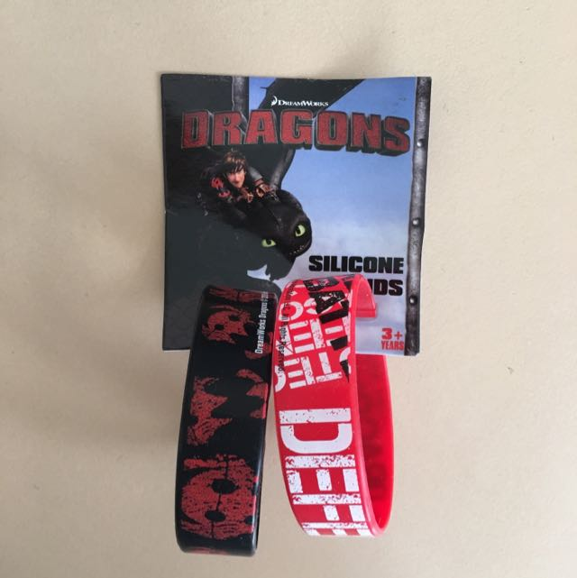 Dragons Silicone Bands