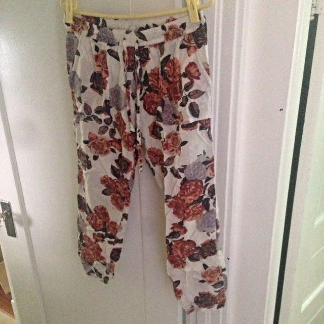 Elements Floral Pants