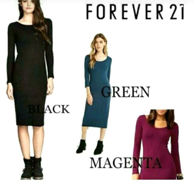 Forever 21 bodycon
