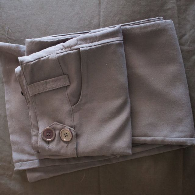 Grey Business Pants