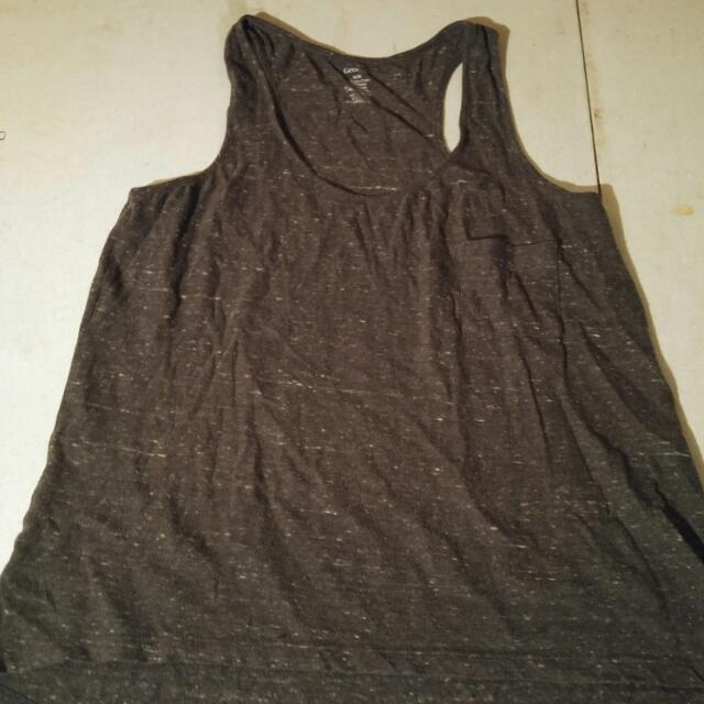 Grey Multi-toned Tank (sz M)