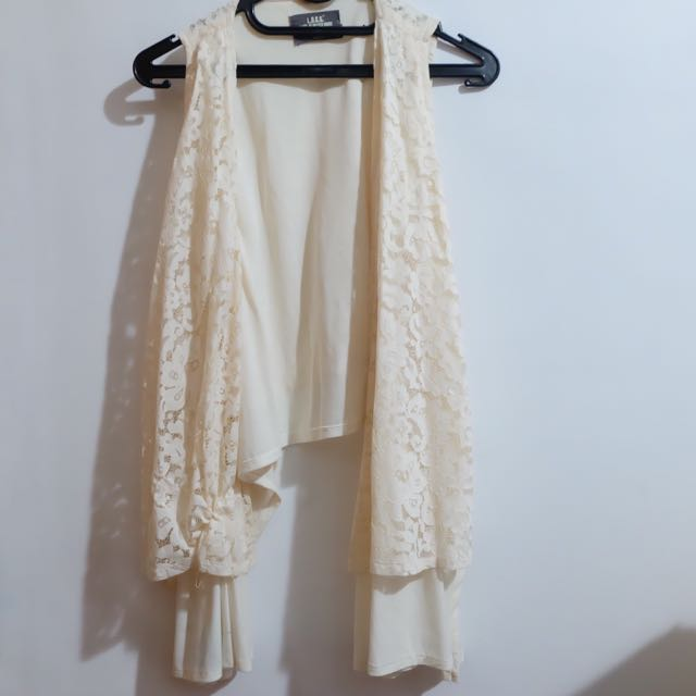 H&M White Laces Outer