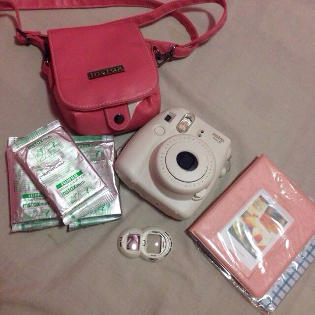 Instax Mini 8 Package On Hand!