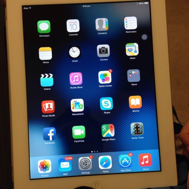 iPad2 Wifi White 64gb Used