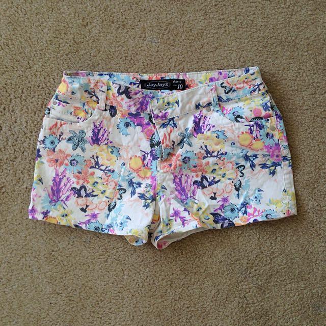 Jay Jays Floral Shorts