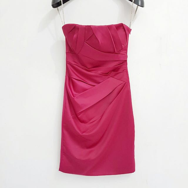 Karen Millen Fuschia Tube Dress