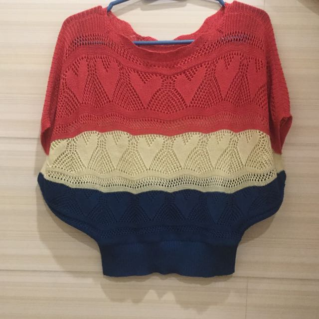 Knitted Cover up/Top