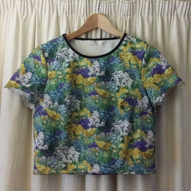 Lashes of London floral field print top