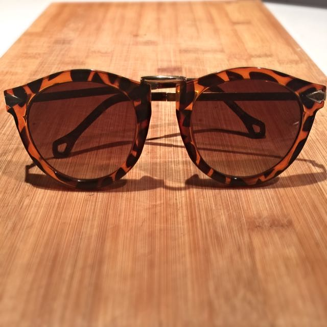 Leopard Print Ladies Sunglasses