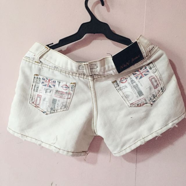 London Low Waist Shorts