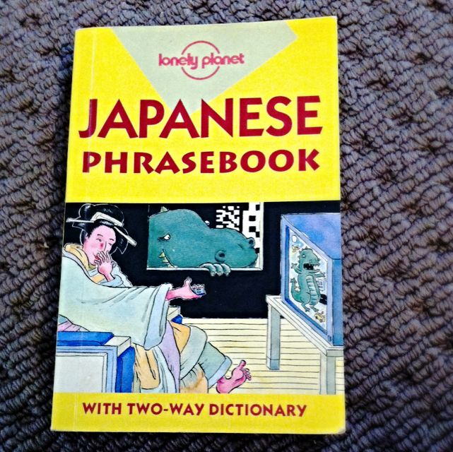 Lonely Planet Japanese Phrase Book - Two Way Dictionary