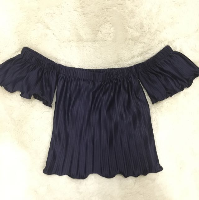 Navy Blue Off Shoulder [postage included]