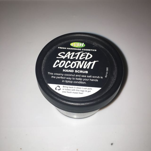 NEW LUSH Salted Coconut Hand Scrub 130g