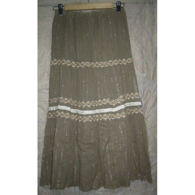 Olive Skirt Ladies - Medium waist -used