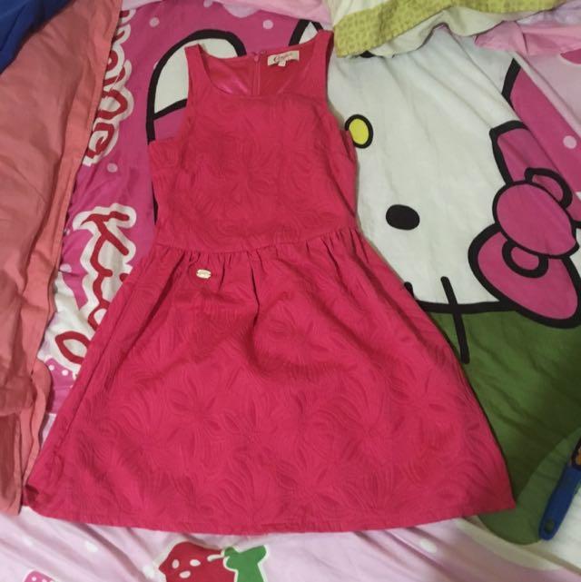 Pink Candy Skater Dress