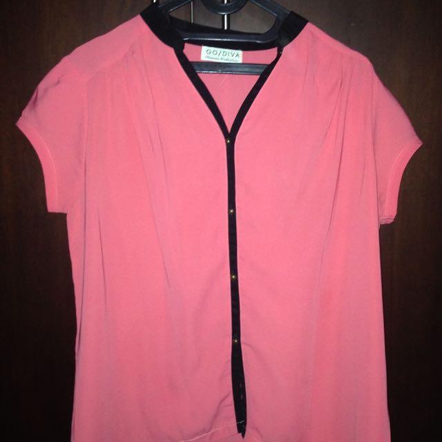 Gosdiva Pink Shirt