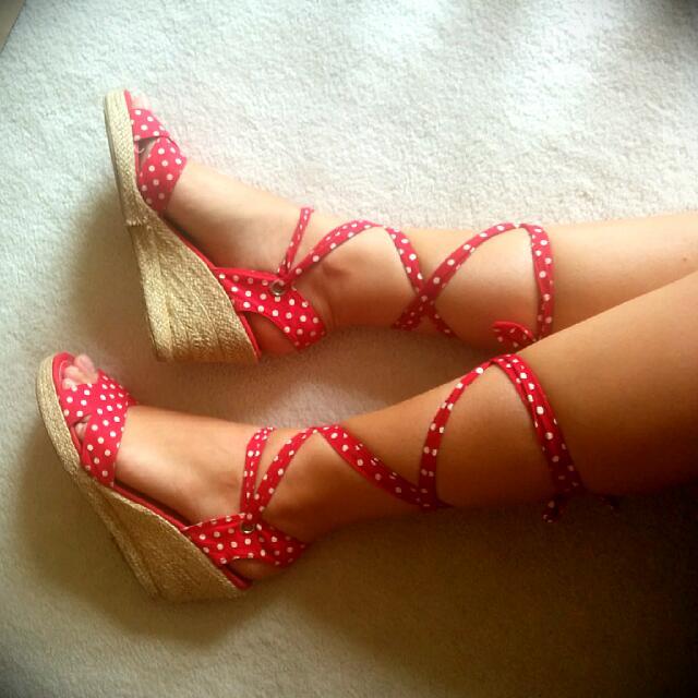 Polkadot Heels