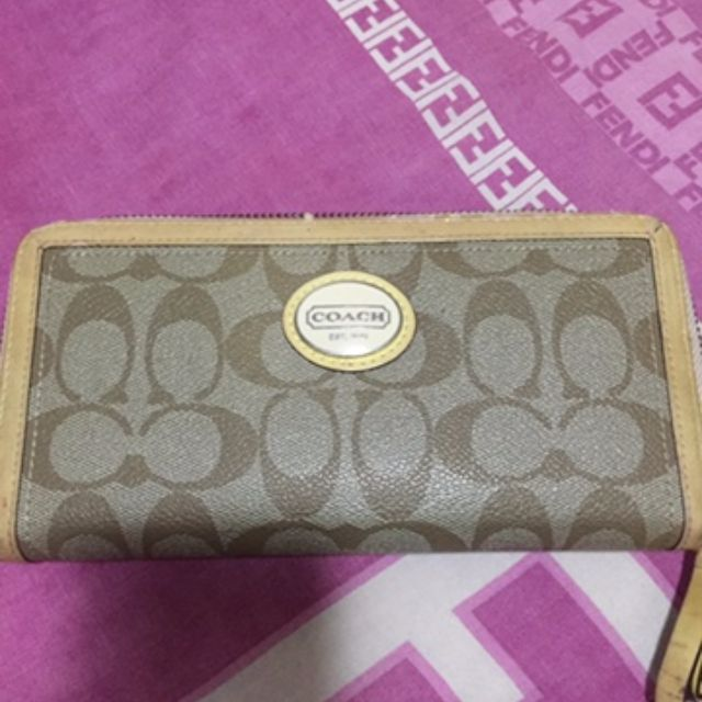 Pre-loved authentic Coach wallet