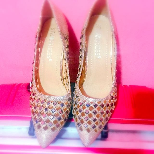 Preloved Shimmery Shoes