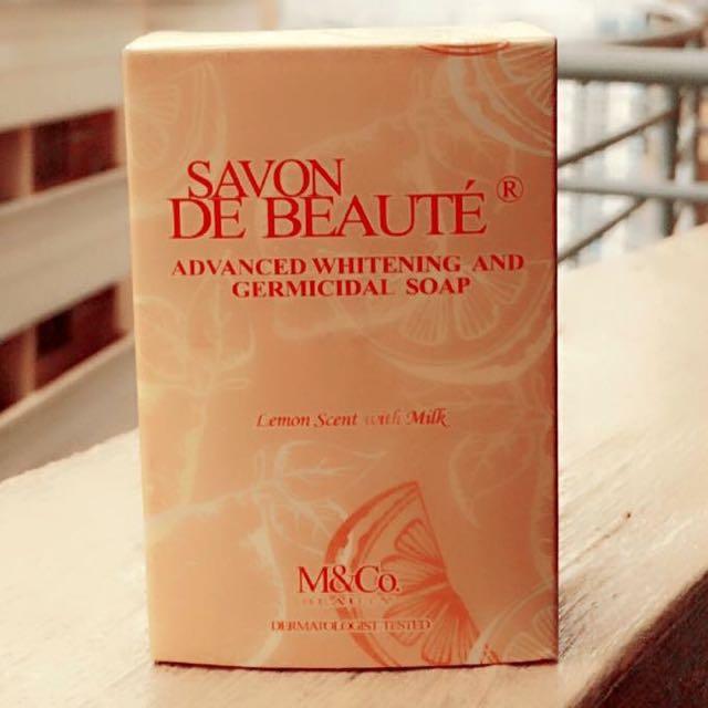 Savon De Beaute Advanced Whitening and Germicidal Soap